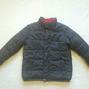Boys Calvin Klein Grey Puffer Coat Size M(10-12)